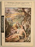 Vintage 1930 Primary Bible Story Leaflets By Presbyterian Church In Usa -- 2950