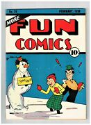 More Fun Comics 29 Vf/nm Appearance Dr Occult Superman Prototype 1695