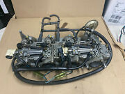 2001 Mercury 75hp 4 Stroke Outboard Carb Carburetor Assy With Intake Manifold