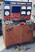 Vintage Sun Model Eet-1160 Electronic Engine Analyzer W/timing Light And More