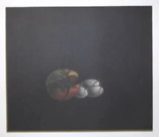 Tomoe Yokoi, Pomegranate And Eggs, Mezzotint, Signed And Numbered In Pencil