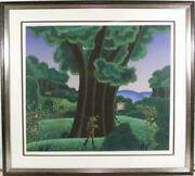 Thomas Mcknight, Pan's Oak, Screenprint, Signed And Numbered In Pencil