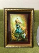 Shu Alice Of Heart 09/50 Art Print With Autograph From Japan F/s