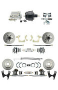 59-64 Gm Full Size Front And Rear Power Disc Brake Kit