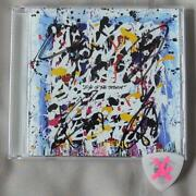 One Ok Rock Eye Of The Storm Toru Autographed Cd And Guitar Pick F/s From Japan
