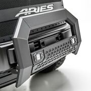 Aries 2163102 Black Aluminum Bull Bar With Lights For Select Super Duty