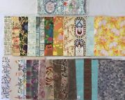 Lot Of Vintage Gift Wrap Wrapping Paper, Various Occasions Rf723