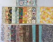 Lot Of Vintage Gift Wrap Wrapping Paper Various Occasions Rf723