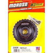 Moroso 23528 Pulley Accessory Drive Gilmer-style Billet Alum Clear 28-tooth New