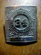 Apex Signal Service Agent Coal Mining Collectable Hat Pin
