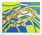 Stanley William Hayter Untitled 3 From The Aquarius Suite Screenprint Signed