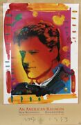 Peter Max, Bill Clinton Inaugural, An American Reunion I, Poster, Signed And Dat