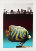 Michael Knigin, Silent Waters, Screenprint, Signed And Numbered In Pencil