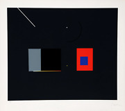 Robert Einbeck Untitled Iii Screenprint On Arches Signed And Numbered In Penc