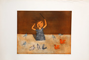 Christine Amarger Chef Dand039orchestre Etching With Aquatint Signed And Numbered