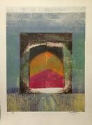 Arun Bose, Abstract Doorway, Etching With Aquatint, Signed And Numbered In Penci