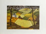 André Even, Farmhouse, Lithograph, Signed And Numbered In Pencil