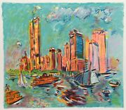 Wayne Ensrud, New York, Lithograph, Signed And Numbered In Pencil