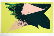 Michael Steiner Untitled Viii Screenprint Signed And Numbered In Pencil