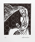 Martin Barooshian Spectre Spirit Intaglio Signed And Numbered In Pencil