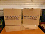 Wedgwood Platinum And Blue Amherst, 20 Pieces--new In Box--four Place Settings