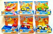Paw Patrol Mighty Pups Super Paws Deluxe Complete Lot/set Of 6 Vehicles Cars New