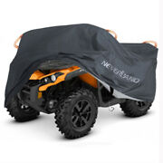 Xxxl Black Atv Cover Waterproof Storage For Can-am Outlander 570 650 850 1000r