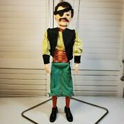 1960s Pirate 306 Toy Vintage Hazelle's Special Talking Marionette Kcmo, Usa