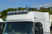 To Fit Man Tgx Xxl Cab Stainless Steel Roof Light Bar Style B+ Leds + Spots