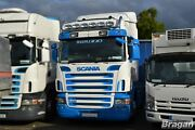 To Fit Scania P G R Series Pre 09 Highline Roof Bar + Round Spot Lamps + Leds