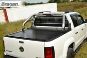 To Fit 2007-2012 Isuzu D-max Rodeo Roll Bar + Red Led + Led Brake +tonneau Cover