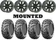 Kit 4 Cst Ancla 27x9-12/27x11-12 On Raceline A71 Mamba Beadlock Machined 550