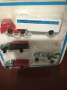Bachmann 52-7018 Construction Set 2 And Trucks Set 1 52-7011 Total Of 7