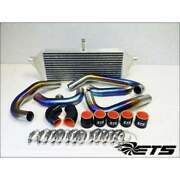 Ets Ti 2.00 Piping Kit Aftermarket Replace Turbo Tial Bov No Burn For Sti 04-05