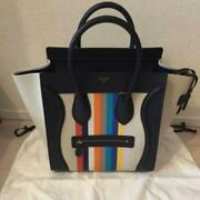 Celine Rainbow Handbag Tote Limited Edition Used Ladies Free Shipping From Japan