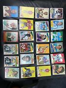 Lot Of 70 1970-72 Topps Football Cards Description For Players