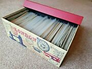 Vintage Lot Of Post Cards Of Over 400 Cards
