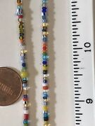 4x African Trade Beads Genuine Hand Made Mixed Christmas Seed Beads