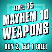 Borderlands 3 [weapons] Buy 2 Get 1 Free [level 65 M10] Bl3 Guns [all Platforms]