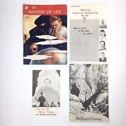 Vintage 1940-50s Amorc Lot Occult Rosicrucian Story Of Learning Mastery Of Life