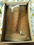 Ugg Tall Boots Size 7,5 In Sand Color
