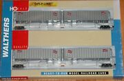 Walthers 932-23922 Gold Line Flexi-van With Trailers 2-pack Milwaukee Road Nifx
