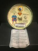 Superman Supermen Of America Sterling Silver Ring With Pinback Button 52/2000 Ra