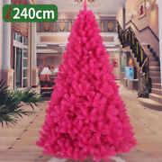 Fuchsia Christmas Tree 2 3 4 5 6 7 8 Ft Undecorated Festival Holiday Outer Door