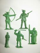 Marx Robin Hood 60 Mm Recasts 9 In 9 Poses Made 1980and039s Excellent Condition Set 1