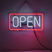 Neon Signs Gift Open Beer Bar Pub Store Shop Room Wall Windows Decor 14x7