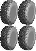 Four 4 Ams Radialpro At Atv Tires Set 2 Front 30x10-14 And 2 Rear 30x10-14