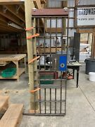 Federal Prison Jail Cell Door With Working Lock And Original Key