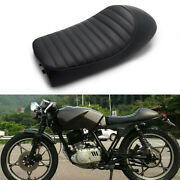 Motorcycle Black Retro Cafe Racer Hump Seat For Honda Cl175 Cl360 Cl450 Us
