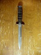 Wwii Us M3 Imperial Vintage Trench Knife Dagger Stiletto